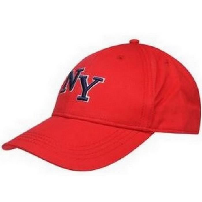 Casquette Homme No Fear New York Rouge Rouge rouge - Achat   Vente ... 328c47664394