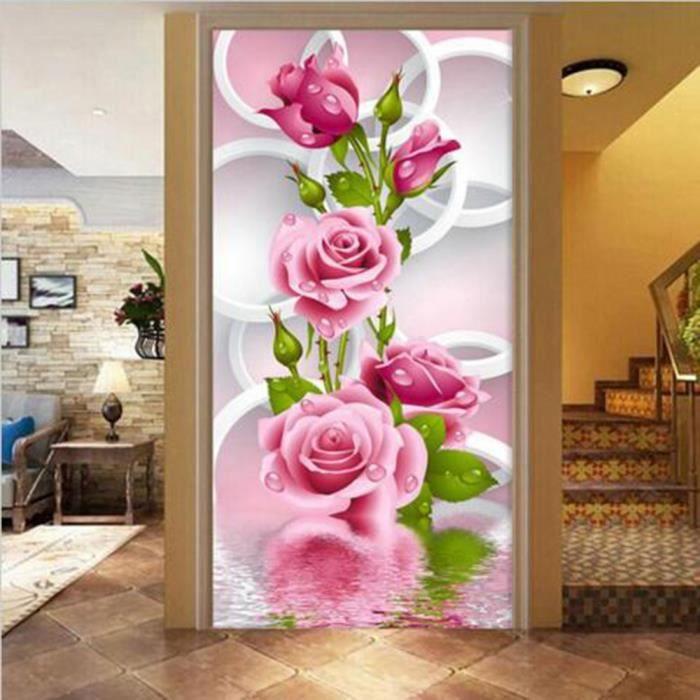Peinture bricolage 5d 3d fleur rose point de croix diamant for Salon rose croix