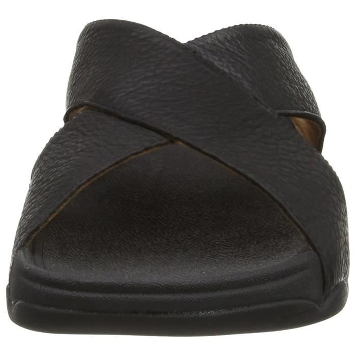 Xosa In Leather Slide Sandal JTAOO Taille-46