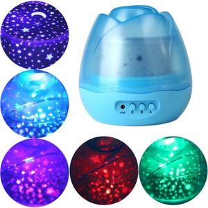 Mignon Doux Chaud Baby Star Light Projecteur avec Master Veilleuse pour Enfants