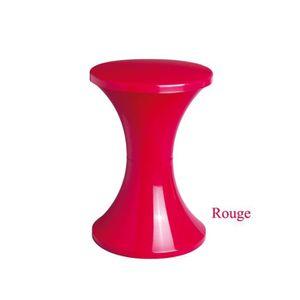 TABOURET Tabouret STAMP Tam Tam Pop - Rouge
