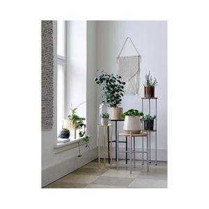 TABLE D'APPOINT Table d'Appoint en Métal Noir Design 0,000000