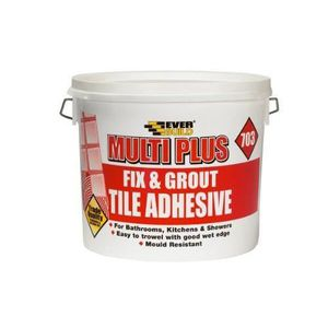 COLLE - PATE FIXATION Everbuild FIX02 Fix and Grout 703 Colle pour carre