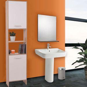 Colonne salle de bain achat vente colonne salle de bain pas cher black friday le 24 11 for Colonne salle de bain bois