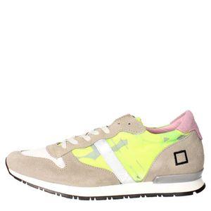 BASKET D.a.t.e. Sneakers Femme Jaune, 39