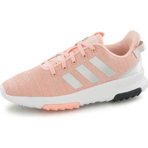 san francisco efcc2 56a4a BASKET Adidas Neo Cloudfoam Racer Tr rose, baskets mode e