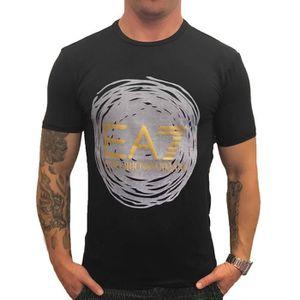 8099af70d417a T-SHIRT T-shirt EA7 Emporio Armani 6XPT23 Noir Polyamide.