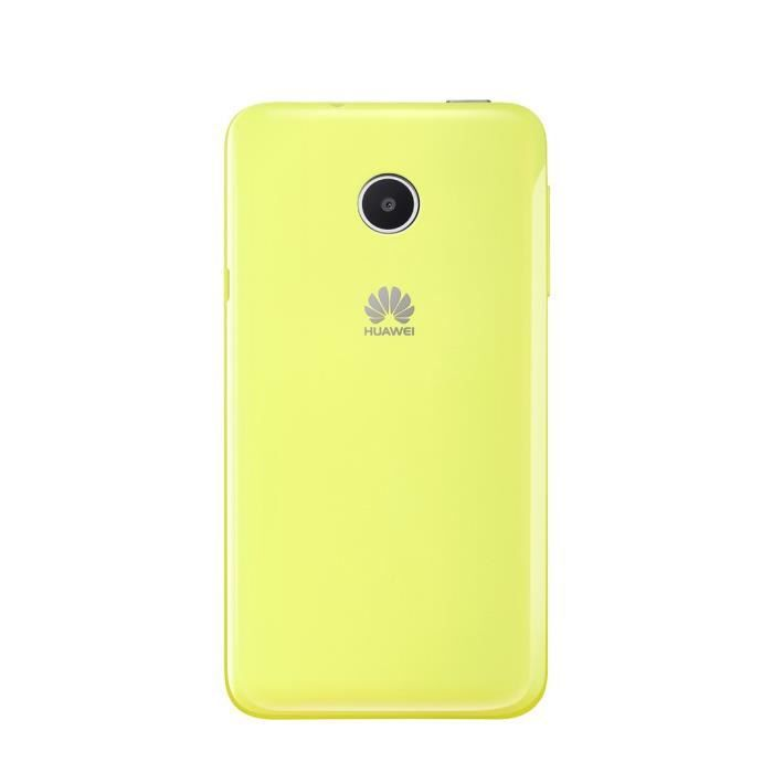 Huawei Coque Arriere Ascend Y330 -Jaune