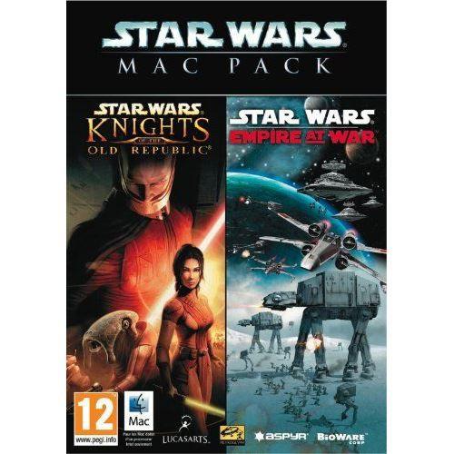 JEU PC Star Wars Mac Pack Empire at War  KOTOR