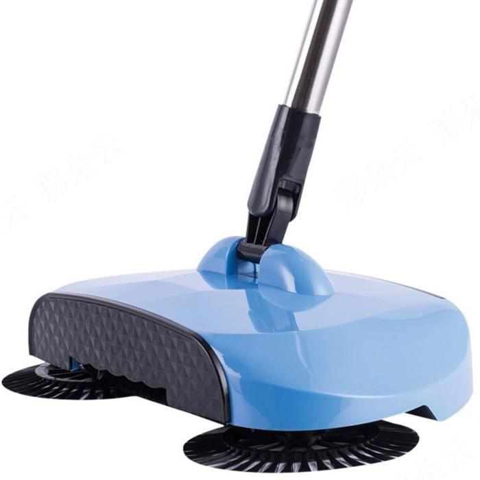 360 Rotatif Usage Domestique Magic Balai Balayeuse Télescopique Manuelle avec Poignée Réglable