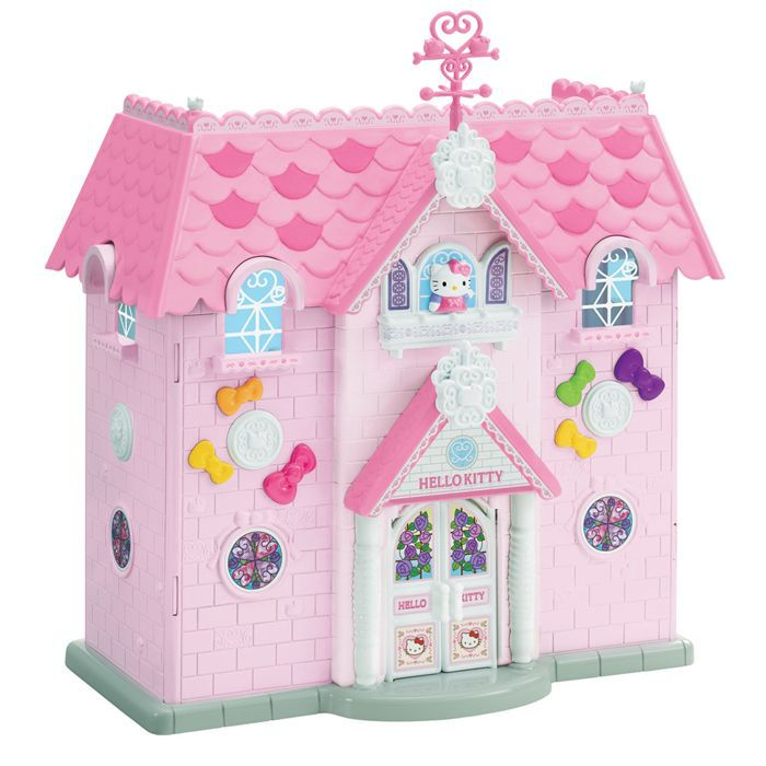 hello kitty maison de princesse 2 figurines achat vente univers miniature cdiscount. Black Bedroom Furniture Sets. Home Design Ideas