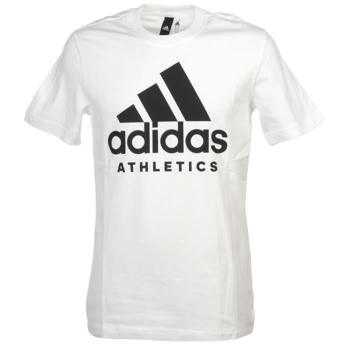 aef114ec3e ADIDAS T-shirt Sid Branded - Homme - Blanc - Prix pas cher - Cdiscount