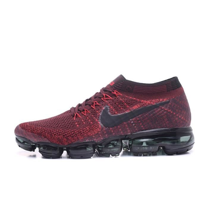 Rouge Vapormax Chaussure Pour Flyknit Air Homme Nike Running De q85twS
