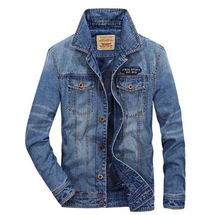 Jean Fashion Jean Homme Homme Veste Fashion Jean Veste Veste dxhtQrCs