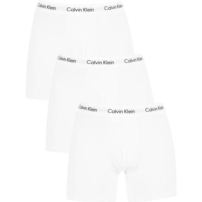 064b367de9c Calvin Klein Homme Lot de 3 boxers en coton extensible