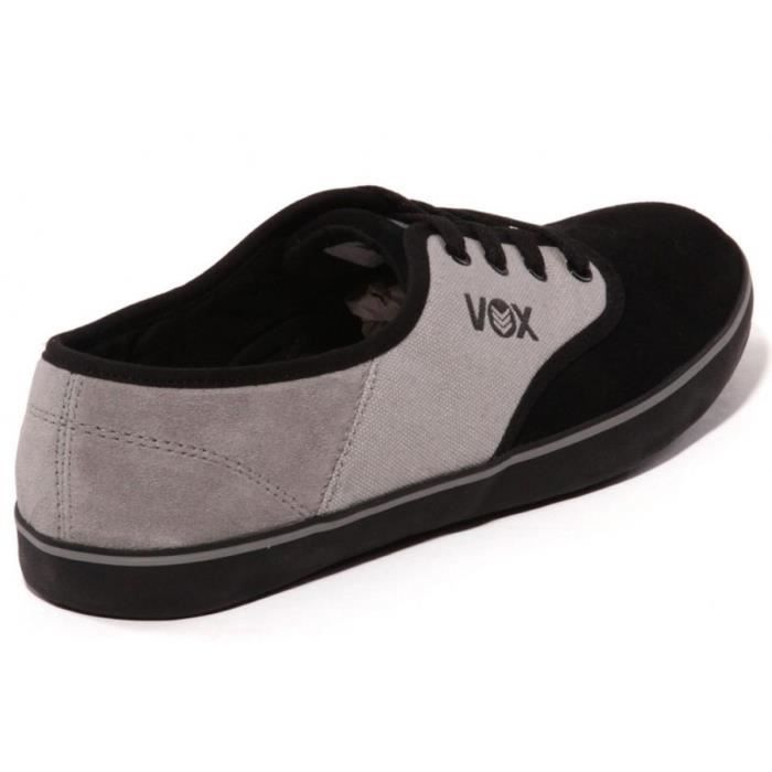CHAUSSURES DE RUNNING Vox Skateboard Shoes Parlor Black/Gray/Black [37.5
