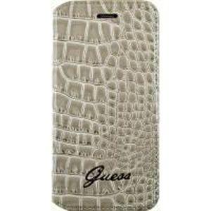 GUESS Etui folio pour iPhone 6 Plus / 6S Plus - Beige effet croco