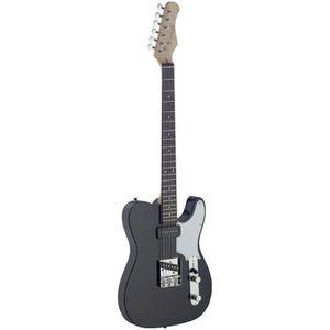 STAGG SET-CST BK Guitare Electrique Vintage - Noir