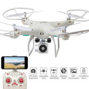 DRONE Drone Objectif Grand Angle HD Caméra Quadcopter RC