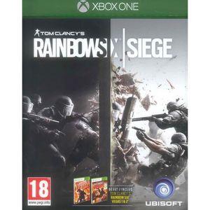 JEU XBOX ONE Tom Clancy Rainbow Six Siege : Xbox One , ML