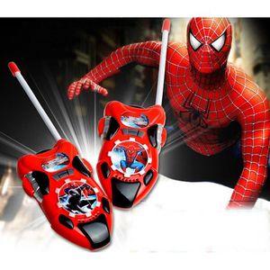TALKIE-WALKIE JOUET Spiderman Talkie Walkie