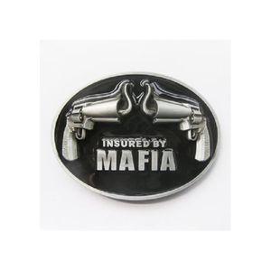 CEINTURE ET BOUCLE boucle de ceinture pistolet noir assuré par la maf 72470416912