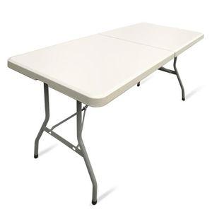Pliante Pas Table Vente Cher Cm 150 Achat dCreWBxo