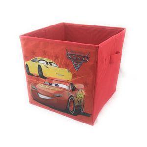 buy popular efd05 85222 1 Tiroir de Rangement Cars pliable 28x28x28 cm - boite de ...