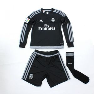 MAILLOT DE FOOTBALL Mini Kit Enfant Real Madrid manches longues