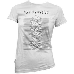 T-SHIRT T-shirt Femme Joy Division Japan Logo - black prin