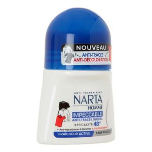 DÉODORANT NARTA Homme Déodorant Anti trace 48H Bille - 50 ml