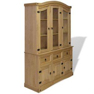 buffet vaisselier achat vente pas cher. Black Bedroom Furniture Sets. Home Design Ideas