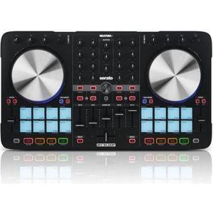 SURFACE DE CONTRÔLE Reloop - BEATMIX 4 MK2 Controleurs DJ USB/MP3 + Se