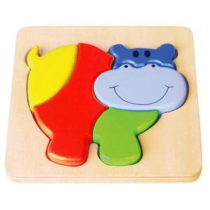 PUZZLE SAPIN MALIN Encastrement Hippo - À partir de 18 mo