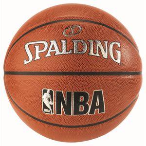 BALLON DE BASKET-BALL Ballon junior Spalding NBA In-Out - orange-noir -
