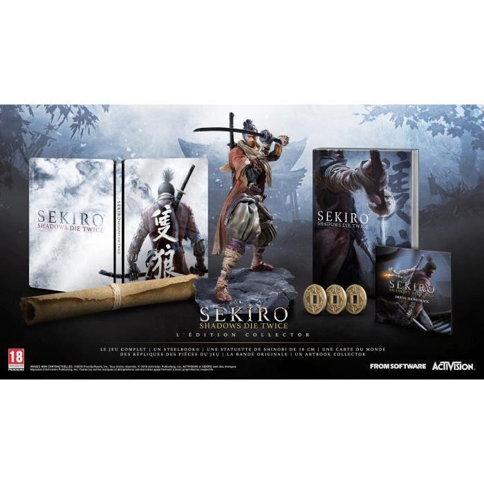 JEU PS4 NOUVEAUTÉ Sekiro: Shadows Die Twice - Collector Edition Jeu