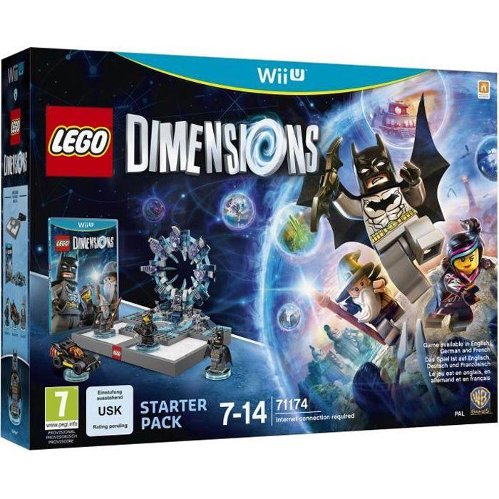 JEUX WII U Lego Dimensions Starter Pack - Jeu Wii U