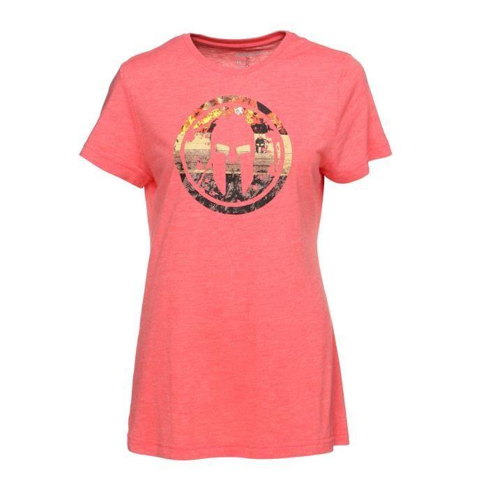 REEBOK T-shirt SRW Femme - Rose