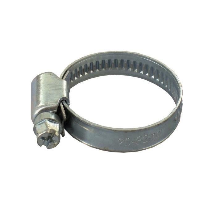 Lot de 3 Colliers de serrage - Ø 12 - 20 mm - Acier