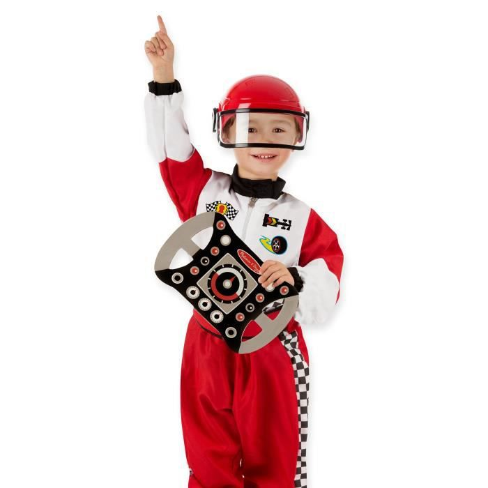 MELISSA & DOUG Costume De Pilote Automobile