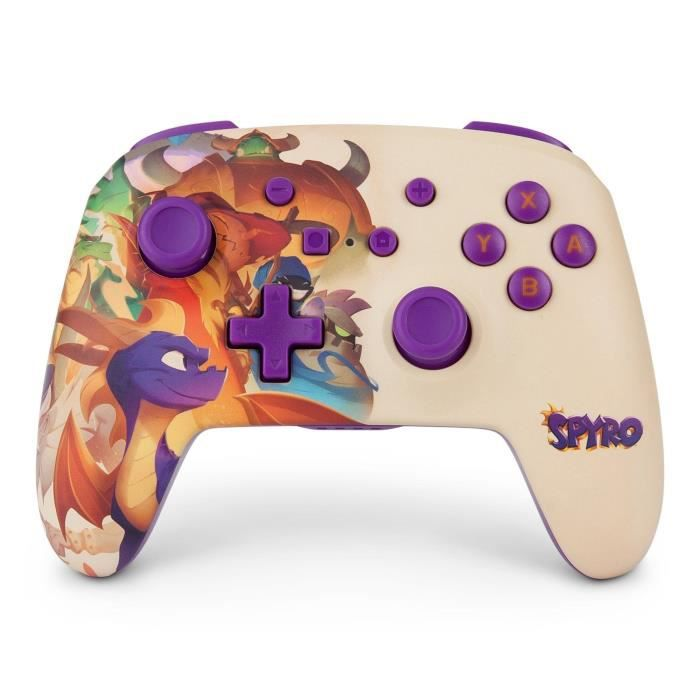 Power a manette nintendo switch wired controller nsw spyro