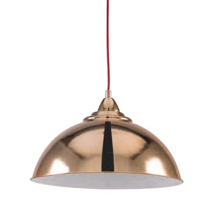 Suspension Cuivre Vintage Luminaire Plafond Lustre Chambre Salle à