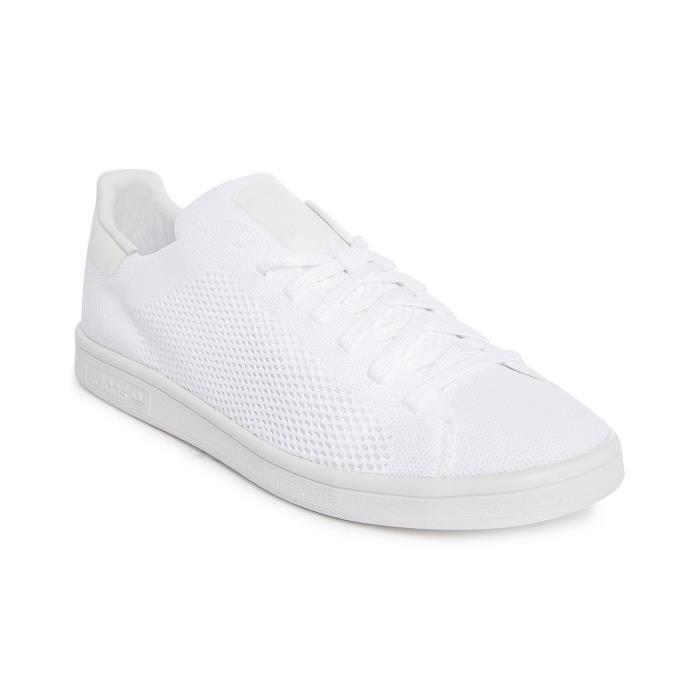 BASKET Stan Smith Primeknit Blanc pour homme