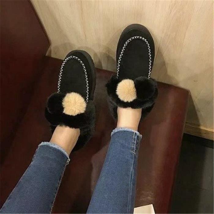 Botte De Neige Plus De Couleur Chaussure Plus De Couleur
