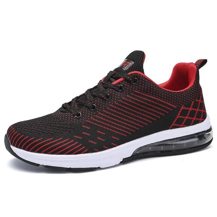 chaussures multisport Pour Hommes en daim Textile De Course Nouvelle Mode ZX-XZ124Blanc39 vwY3p