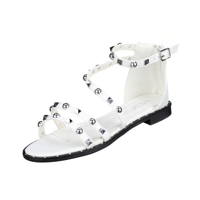 Sandales femme C M 77-19 White