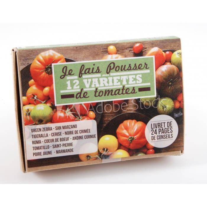 GRAINE - SEMENCE Coffret de graines : les 12 bonnes tomates ancienn