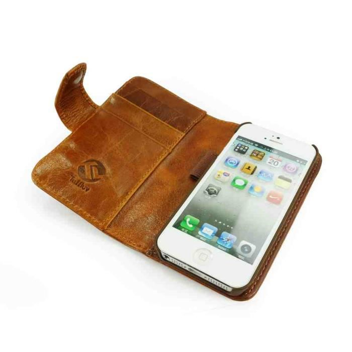 coque iphone 6 portefeuille cuir