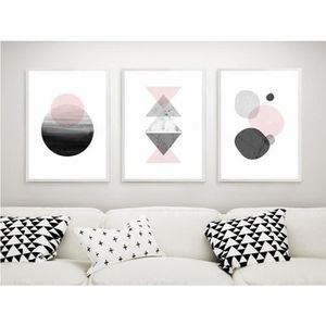 tableau geometrique achat vente pas cher. Black Bedroom Furniture Sets. Home Design Ideas
