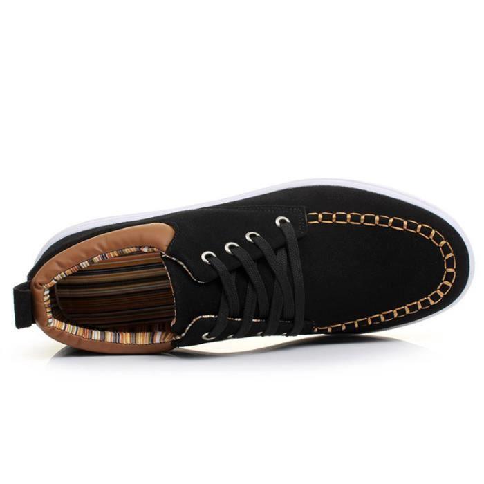 Chaussures De Sport Pour Hommes en daim Textile De Course Populaire TYS-XZ119Rouge39 mQ2UIhnId